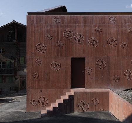 Valerio Olgiati, Atelier Bardill, Scharans